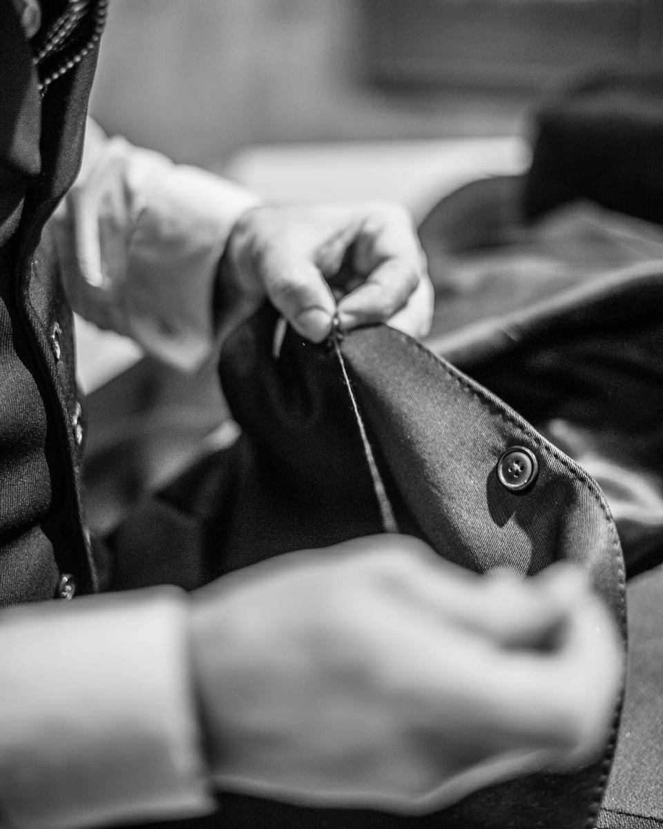 Custom tailored suits in Brooklyn, New York.